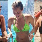 Kristine Leahy body measurements facelift boob job