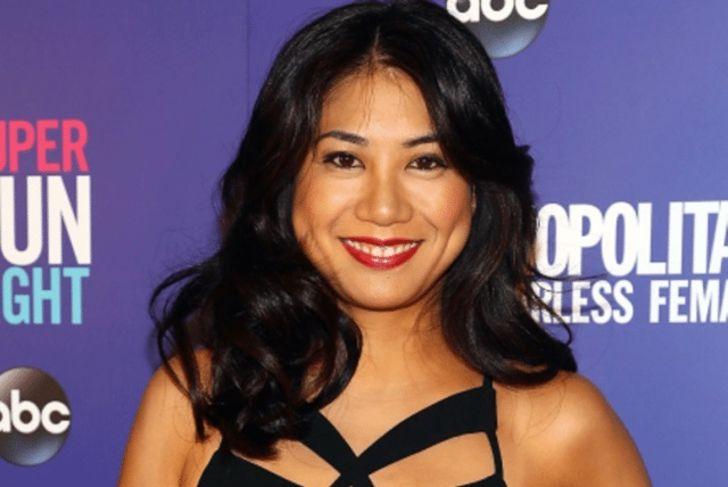 Liza Lapira lips boob job botox